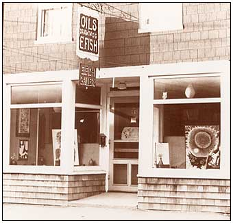 E. Fish Gallery in Marblehead, 1965